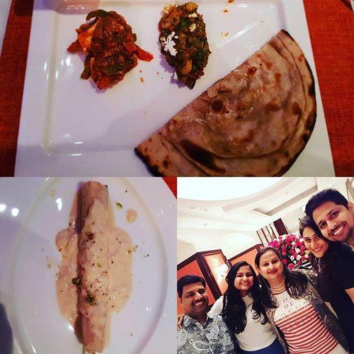 Had the best birthday celebration @tajlandsend Masalabay Paneerkurchan Subzmiloni and to top it all Kulfirabdi with the bestest service as always thank you chef Amninder Instalike Instaclick Instahappiness LetsDoIt Idowhatilovemost Instaupload .............. @taronish11 @shailesh._pillay @priya.pillay26 @sakshi_pillay