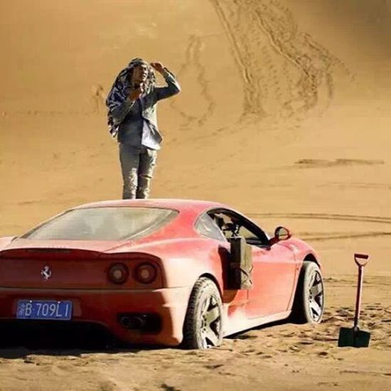 Topgear Ferrari360 Desert