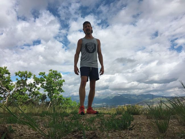 me lately. running in the Wasatch mountains. ⛰ 🦌 Elevation Running Wasatch Mountains Utah Cloud - Sky Sky One Person Full Length Casual Clothing Lifestyles Leisure Activity