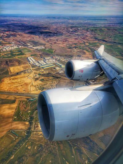 Flying Scenery
