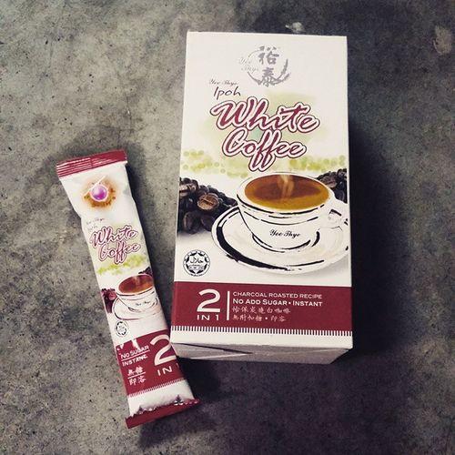 Been looking for a nice non sweet Ipoh Whitecoffee . This is nice. Coffeeholic Coffeelife coffeelover coffeegram coffeeaddict