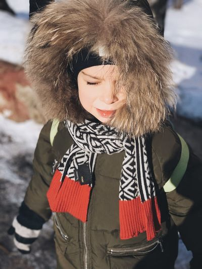 Ребенок Winter