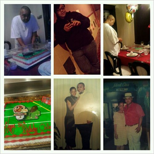 Happy 56th Birthday Daddy #turnup Twin