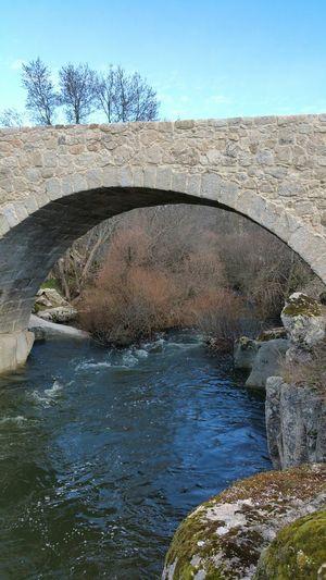 Puente Medieval y Río Manzanares Colmenar_Viejo