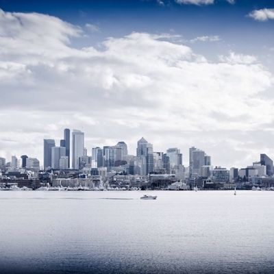 Seattle over Lake Union