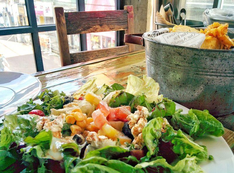 Food Colorful Salad