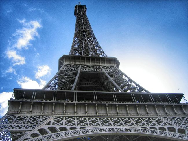 """""""Under the Tower"""". Iconic Buildings Landmarks Architecture Iron Tour Eiffel Paris Point And Shoot Eiffel Tower Torreeiffel  France"""