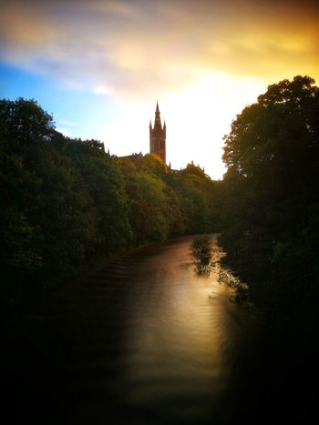 History Tranquility No People Water Kelvingrove Park River Kelvin Sunrise EyeEm Gallery GlasgowUniversity WeekOnEyeEm Cloud - Sky
