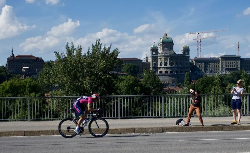 Bicycle BicycleRace Blue Sky Bundeshaus Costa EyeEm Gallery EyeEmBestPics Finish From My Point Of View Letourdefrance2016 Monbijoubrücke Photographer Sport Sport In The City Summertime Tdf-bern Tdf2016 Adventure Club People And Places