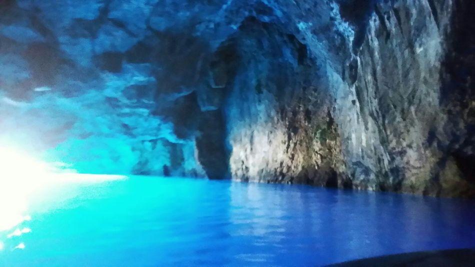 La grotta blu . Isola di Castellorizo Green No Filter . The Amazing View Nature_collection Buongiorno Ciao Belli