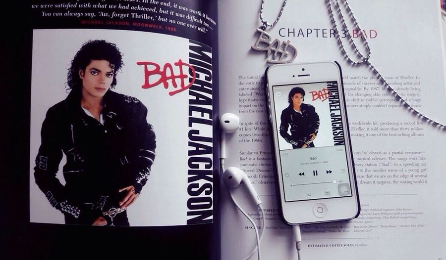 /Shamone MJFam Bad BadAlbum Michael Jackson Man In The Music