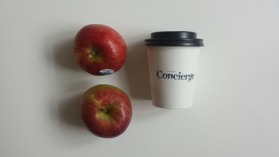 Things Organized Neatly Apples Concierge Coffee