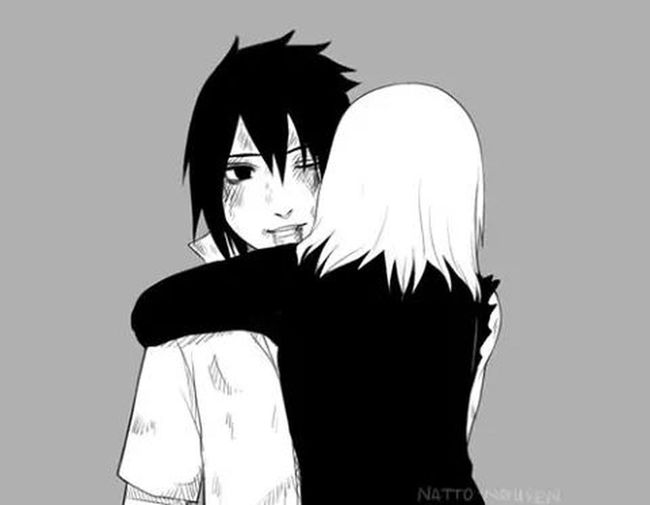 Sasusaku in the chapter 699-700♥