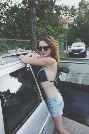 Swimming Car Girl Sexygirl Perfection Summer Popular Photos Eye4photography  First Eyeem Photo Body & Fitness