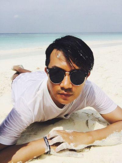 ดำจนดำ Being A Beach Bum Sunshine Getting A Tan Sandcastles Relaxing Enjoying The Sun Sea Beach Super Fresh