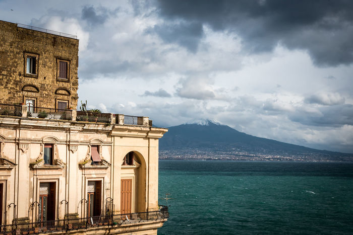 City Italia Naples, Italy Napoli Travel Architecture Beauty In Nature Building Exterior Built Structure Campania Cloud - Sky Day History Italy Mountain Nature No People Outdoors Scenics Sea Sky Water
