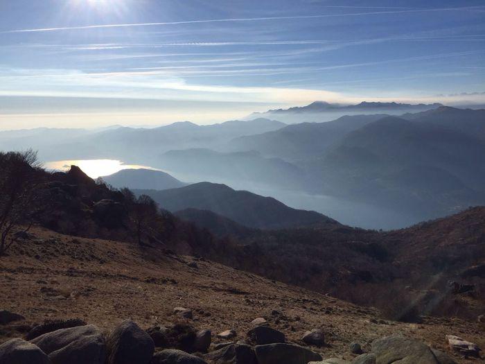 Mottarone Mountains Mountain View Stresa