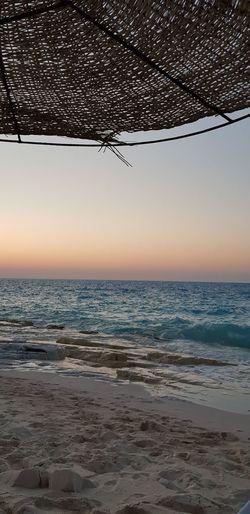 North coast, Alexandria, Egypt Water Sea Beach Wave Sunset Sand Sky Horizon Over Water