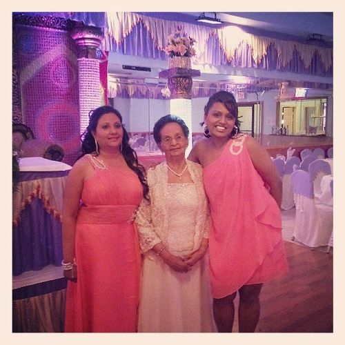 Three Generations of Persad Women!!! Daughter Mother Granddaughter Grandmas80thbdayparty sexybitches hotlikefiyah partytime partytunup iloveyoumama myauntshotterthanyours ilovemyfamily ilovemylife
