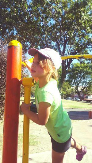 At The Park <3 Little Littlegirl My Daughter My Daughter ♥ My Daughter ❤️ My Little Daughter Hat My Princess A Day At The Park At The Park⛳ At The Park .  At The Park Little Girl Happy :) Happy People