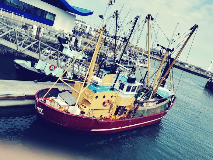 Water Nautical Vessel Sea Moored Boat Fishing Boat Commercial Fishing Net Fisherman Port Fishing Industry Water Vehicle Dock Sailing Boat Fishing Equipment Fishing Tackle Fishing Net Paper Boat