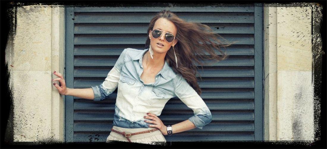 fashion Portrait Enjoying Life