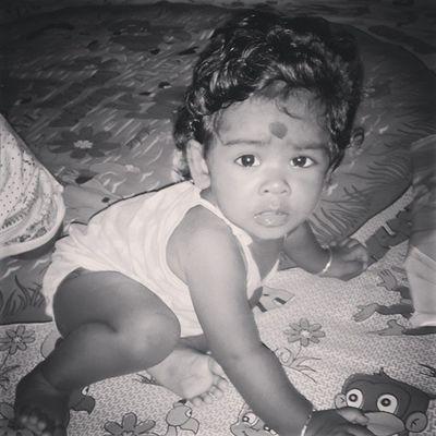 My bhaanji ? Cute