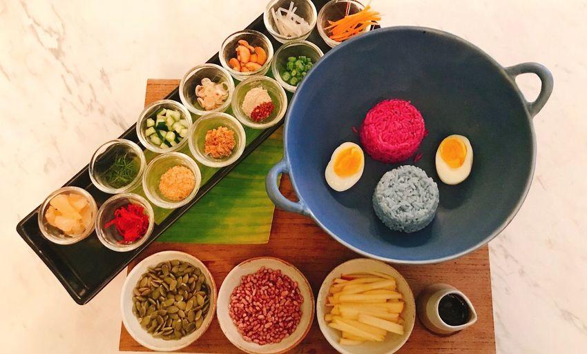 Rice Salad Delicious Thai Cuisine Food