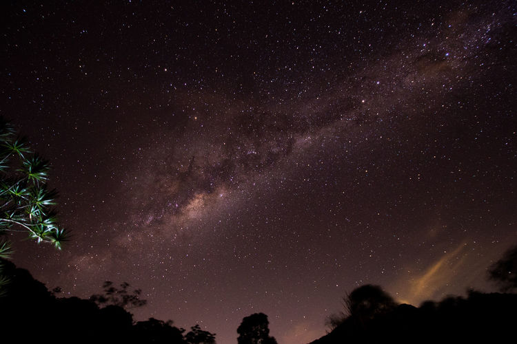 Milky way, Rio de Janeiro - Brazil Rio De Janeiro Astronomy Beauty In Nature Constellation Galaxy Low Angle View Lumiar Milky Way Nature Night No People Outdoors Scenics Silhouette Sky Space Star - Space Star Field Starry Tranquil Scene Tranquility