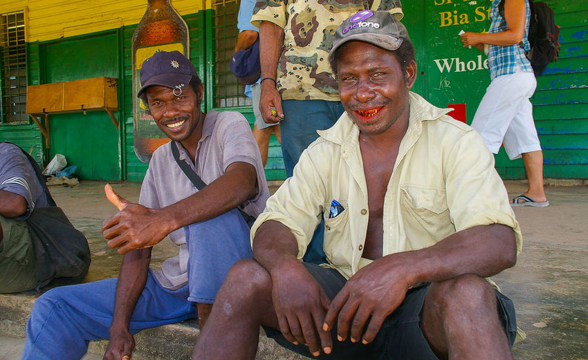 Betel Nut Smile Kavieng Locals Person Png Tourism Portrait Remote Papua New Ginea Smiles
