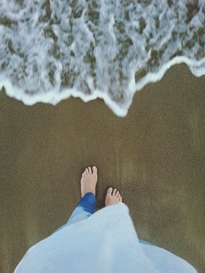 That's Me Supernormal From Where I Stand Floortraits Barefoot Holiday POV
