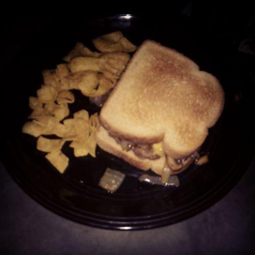 Homemade Burgers Onion Mushroom