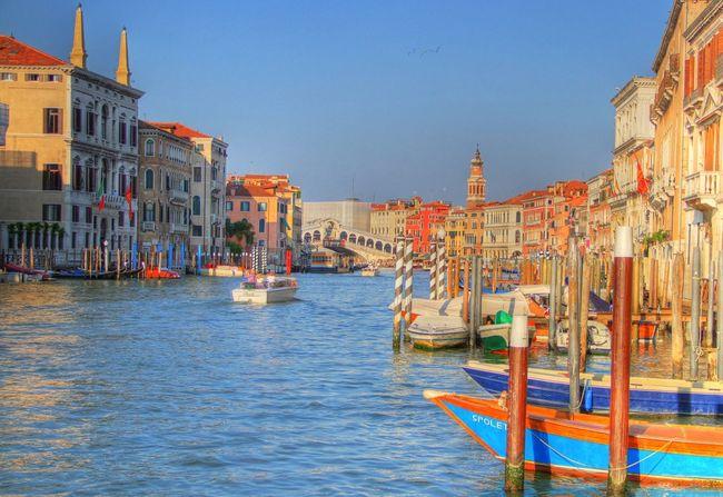 Venice, Italy Grand Canal Ponte Di Rialto Rialto
