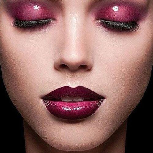 Eyesandlips Makeup Eyemakeup Lipstick Lips Maroonmakeup