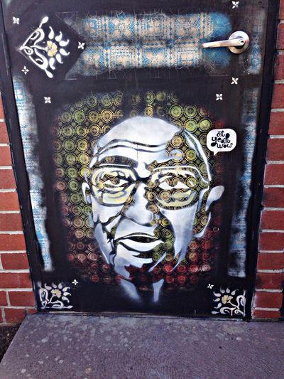 Streetart Stencil Art