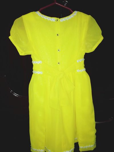 Yellow Sunday Dress Kids Dress Check This Out