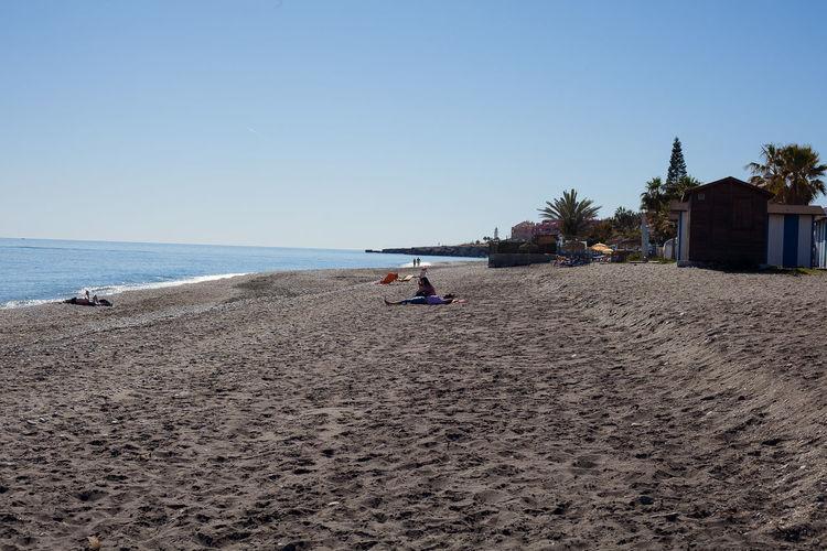 Sky Beach Sea