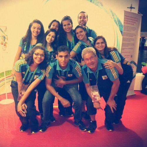 Minha Turma!!! Voluntario Fifa Confederacoes2013 Felicidade