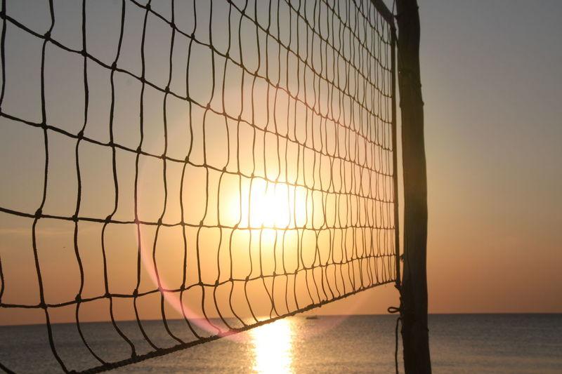 Beachvolleyball net - Sunset - Baltic Sea Beachvolleyballnetz - Sonnenuntergang - Ostsee Beach Beach Photography Beach Volleyball Beachphotography Net Sport Sunset Sunset Silhouettes Sunset_collection Sunsets Volleyball