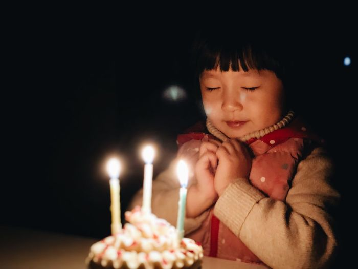 Birthday The Week On EyeEm EyeEmNewHere IPhone IPhoneography IPhoneX Childhood One Person Celebration Birthday Burning Birthday Candles Birthday Cake Flame Candle Girl Portrait
