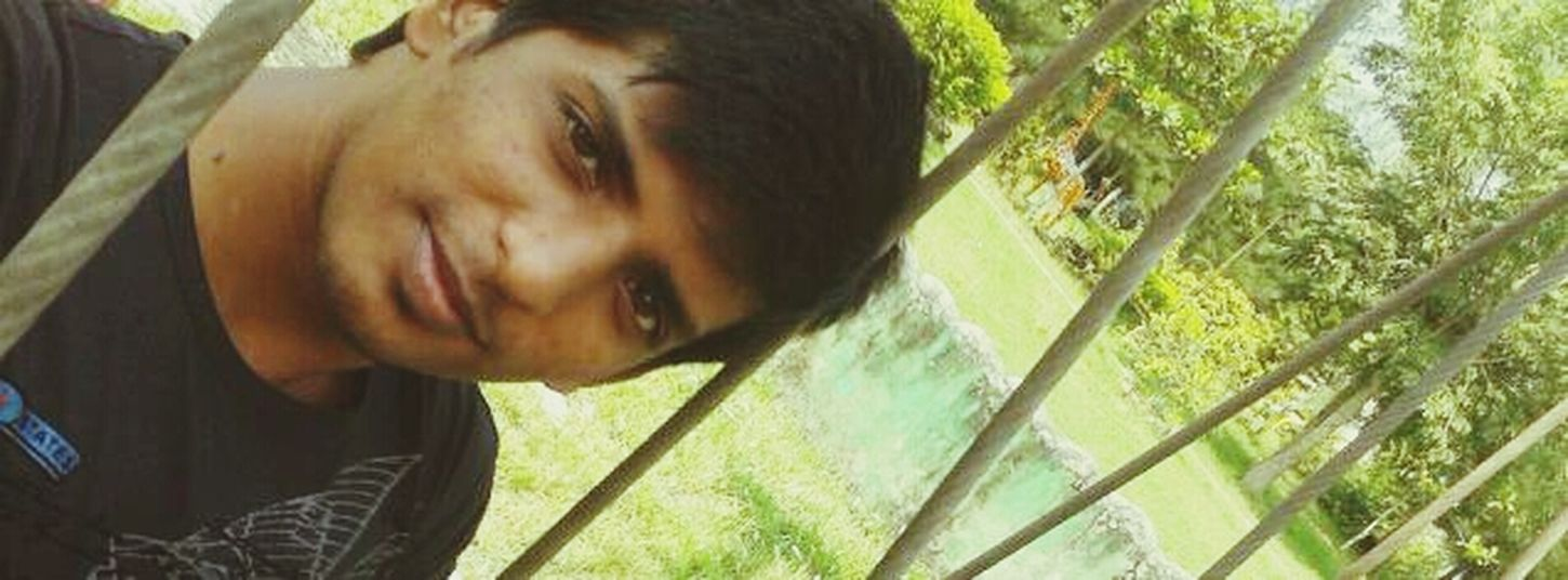 selfi in a park That's Me