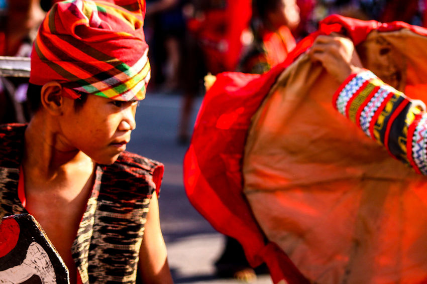 Multi Colored Red Close-up Traditional Clothing Cultures T'nalak Festival More Fun In The Philippines  Philippines People Bangle Street Dancer Cultural Festival Enjoyment Vacations Summer