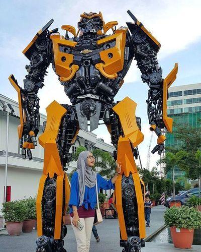 Saya ada penjaga bary Transformers Bublebee Penangtimessquare
