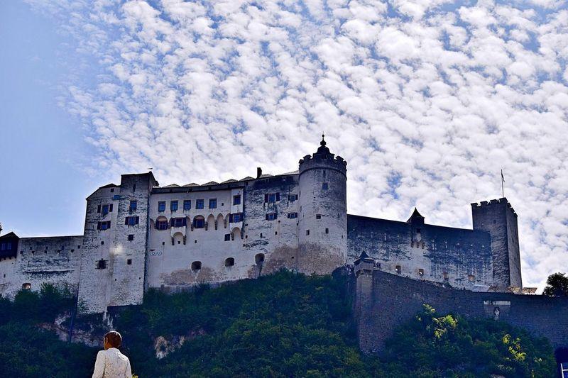 Connected By Travel Castle Castle Walls Castle Tower Hohensalzburg Castle