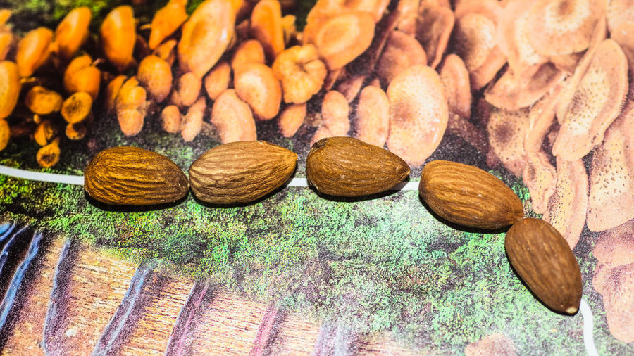 Almonds in