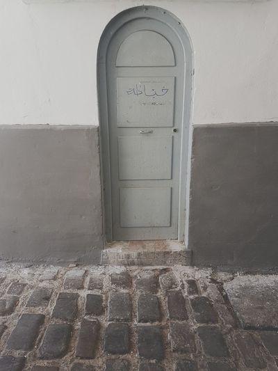 Door Ancient Greyscale