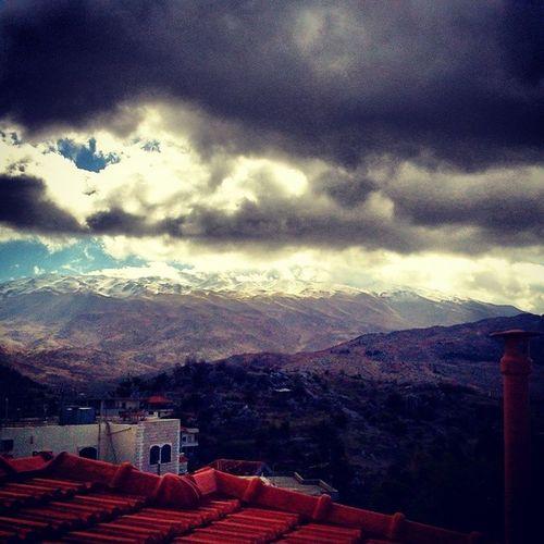 Ya Jabal l Chaykh ... Rachaya Lebanon instalebanoncloudscoldsnowwinterhometownsuntagsforlikeslikeforlikeweathernaturehollymountainhermounjesus