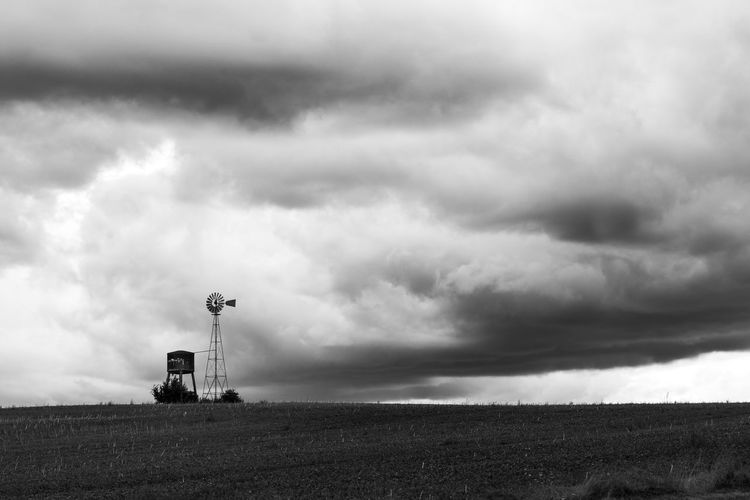 untitled. Sentinel Series. Malephotographerofthemonth Landscape Weather Vane Wind Vane Storm Cloud Thunderstorm Rural Scene Storm Sky Cloud - Sky Overcast Atmospheric Mood Cloudscape Dramatic Sky Moody Sky
