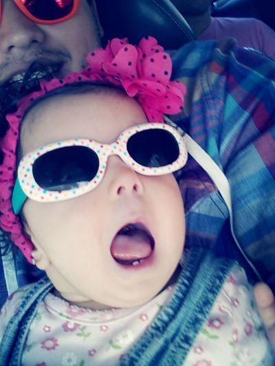 Ahhh Relaxing My Goddaughter Iloveher ♥