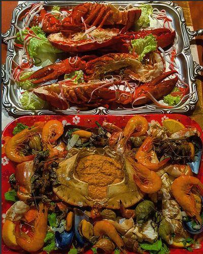 Newyear2016 Foodporn Pornfood Beautifulfood Camarao Lavagante Percebas Marisco Buzios Sapateira Touparachefdoanocj